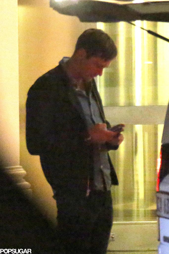 Alexander Skarsgard also attended the dinner.
