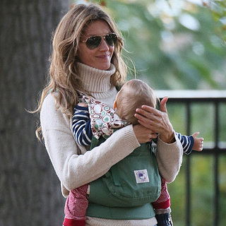 Gisele Bundchen Taking Her Kids to the Park in Boston