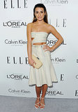 Lea Michele celebrated Elle's Women in Hollywood event on Monday in LA.
