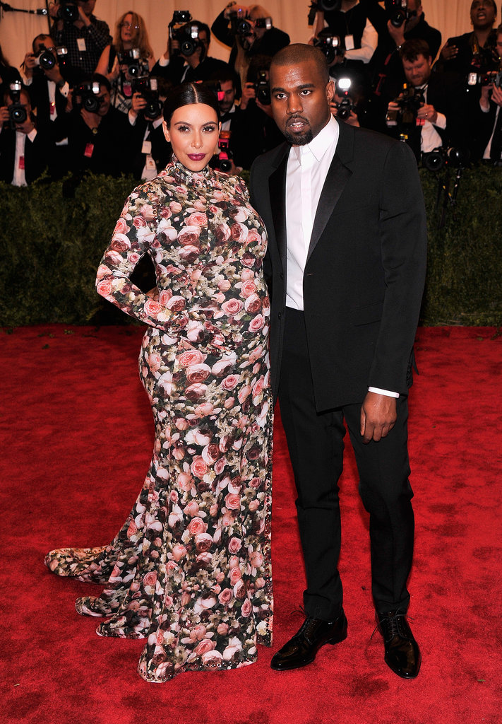"Despite detractors, Riccardo Tisci — who designed Kim's Met Gala gown — defended his friend by calling her the ""most beautiful pregnant woman"" he had ever dressed."