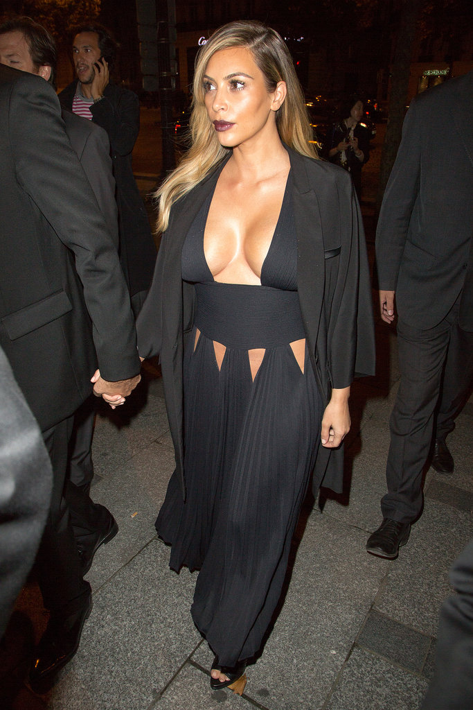 Talk about friends in high places! Not only did Tisci gift North West a highly-coveted Bambi tee,  he also handpicked this provocative Givenchy design for Kim to wear to the Mademoiselle C premiere in Paris.