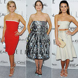 Lea Michele's Big Red Carpet Return With Reese and Marion