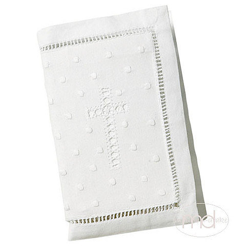 Madison-Drake Embroidered Cross Keepsake Bible