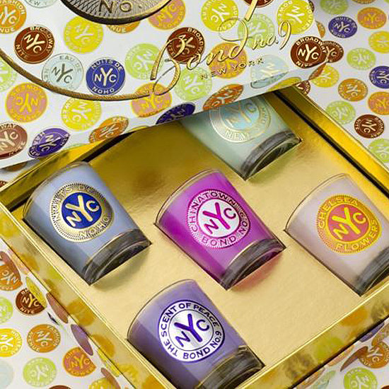 For the ultimate fan of Bond No. 9, gift the The Voyager Candles set ($95), which contains the brand's Chelsea Flowers, Chinatown, Eau de New York, Nuits de Noho, and The Scent of Peace.