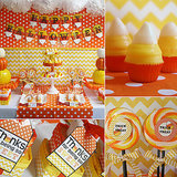 The Cutest Candy Corn Halloween Party