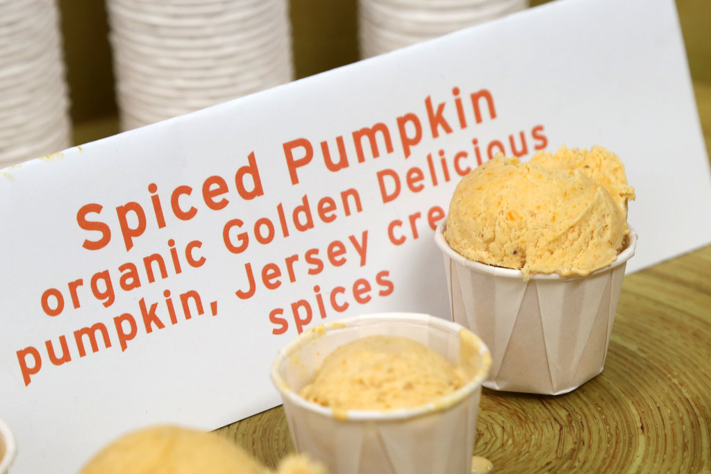 Blue Marble Spiced Pumpkin Ice Cream
