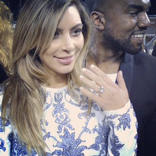 Kim Kardashian and Kanye West Engagement at ATT Park Details