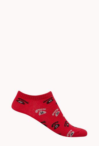 FOREVER 21 Retro Called Ankle Socks