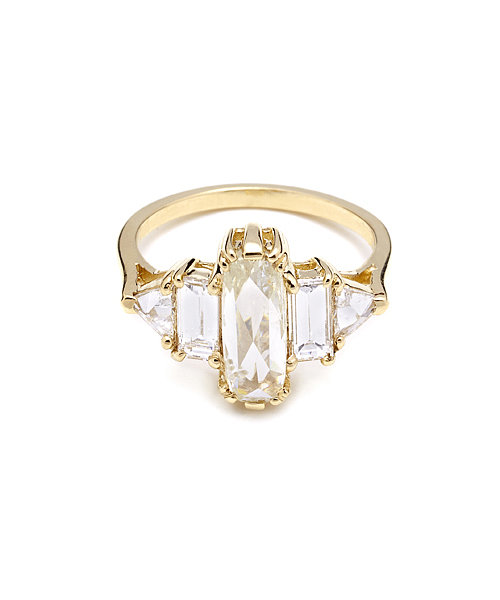 Anna Sheffield Theda Five Diamond Ring ($15,000)