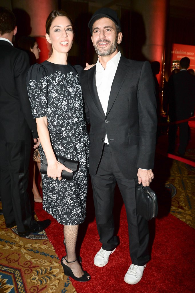 Sofia Coppola came out to support her longtime friend Marc Jacobs.
