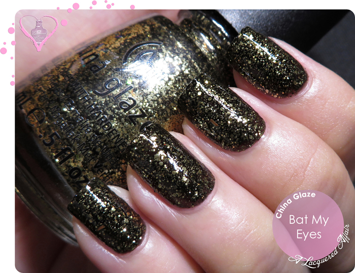 China Glaze Bat My Eyes