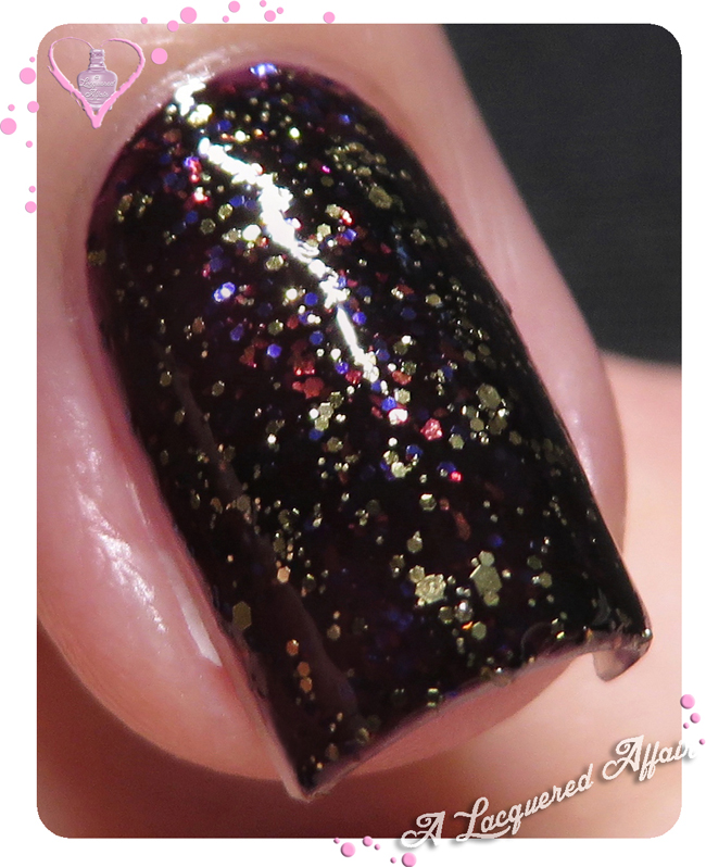 China Glaze Bat My Eyes over Howl You Doin'