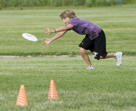 Kid Sport, Ultimate Frisbee