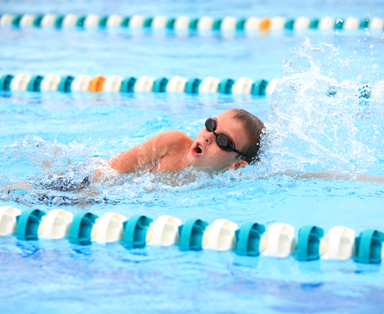 Kid Sport, Swimming
