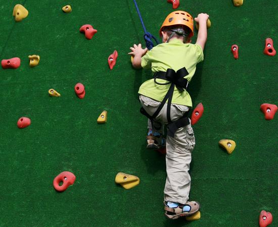 Kid Sport, Rock Climbing