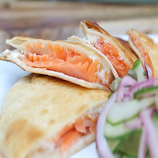 Smoked Salmon Quesadilla Recipe | Video