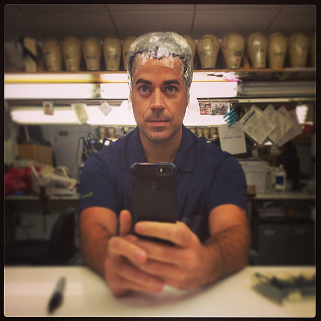 Carson Daly got started on his Today show Halloween costume — wonder what it'll be? Source: Instagram user carsondaly