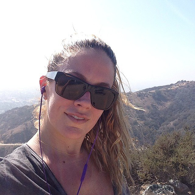 CaCee Cobb took a hike in LA. Source: Instagram user ca