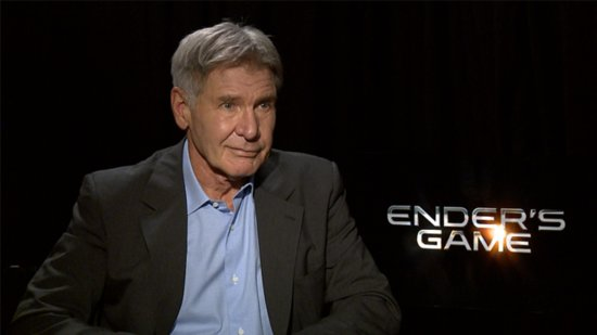Why Harrison Ford Came Back to Space For Ender's Game