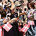 Princess Mary took photos with fans and well-wishers at the Sydney Opera House on Oct. 24.