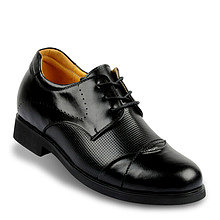 Black / Brown Men Elevator Dress Shoes that give you height 7cm / 2.75inch