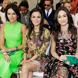 Camilla, Rachel, Emmy, and More Sit Pretty For the CFDA