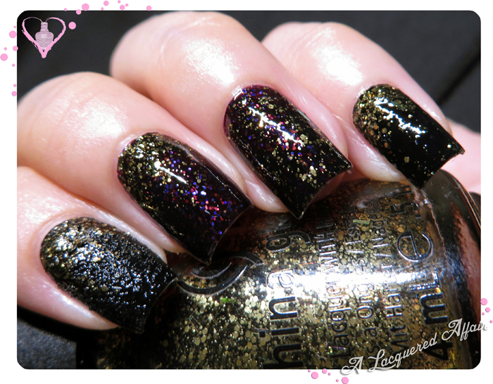 China Glaze Halloween 2013 Monsters Ball Combo