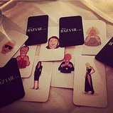 Harper's Bazaar gave emojis a chic update for its New York dinner.  Source: Instagram user harpersbazaarus