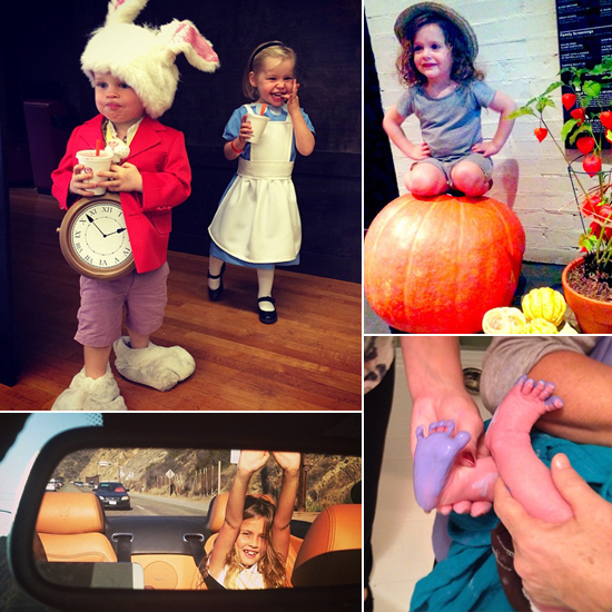Celebrity Mom Instagram 102513