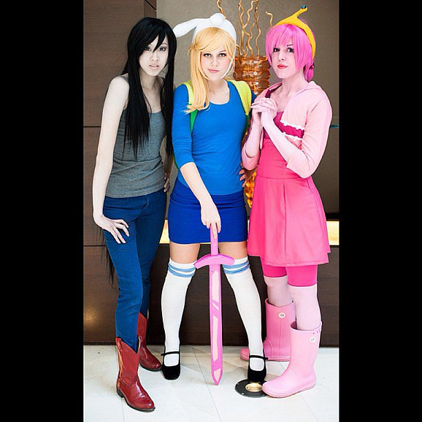 Marceline, Fionna, Princess Bubblegum