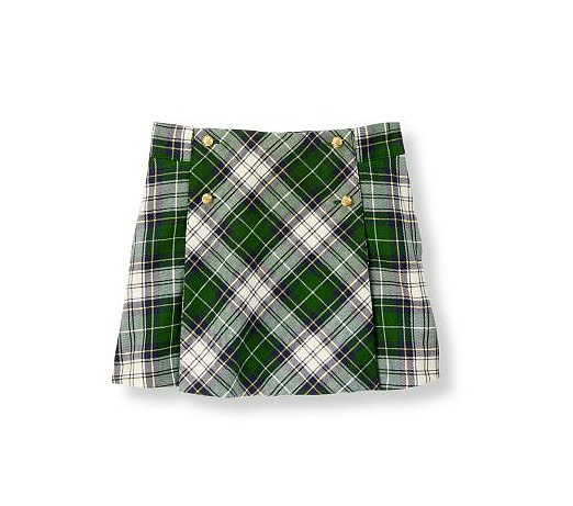 This green plaid skirt ($39) just screams preppy chic.