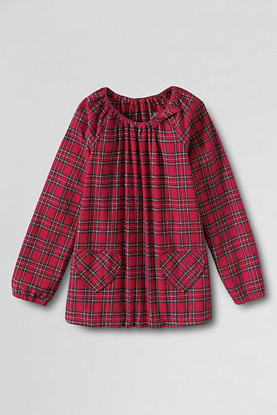 How comfy does this red flannel shirt ($29) look?