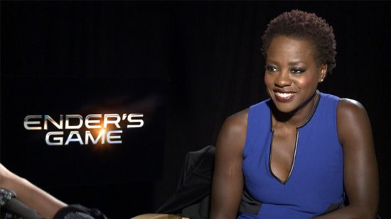 Viola Davis Didn't Need to Push Up Her Breasts in Ender's Game