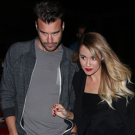 Lauren Conrad and William Tell at Dinner in LALauren Conrad Fiance
