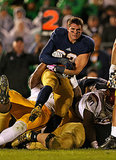 Cam McDaniel became on overnight star after taking a very photogenic picture during his football game last weekend.