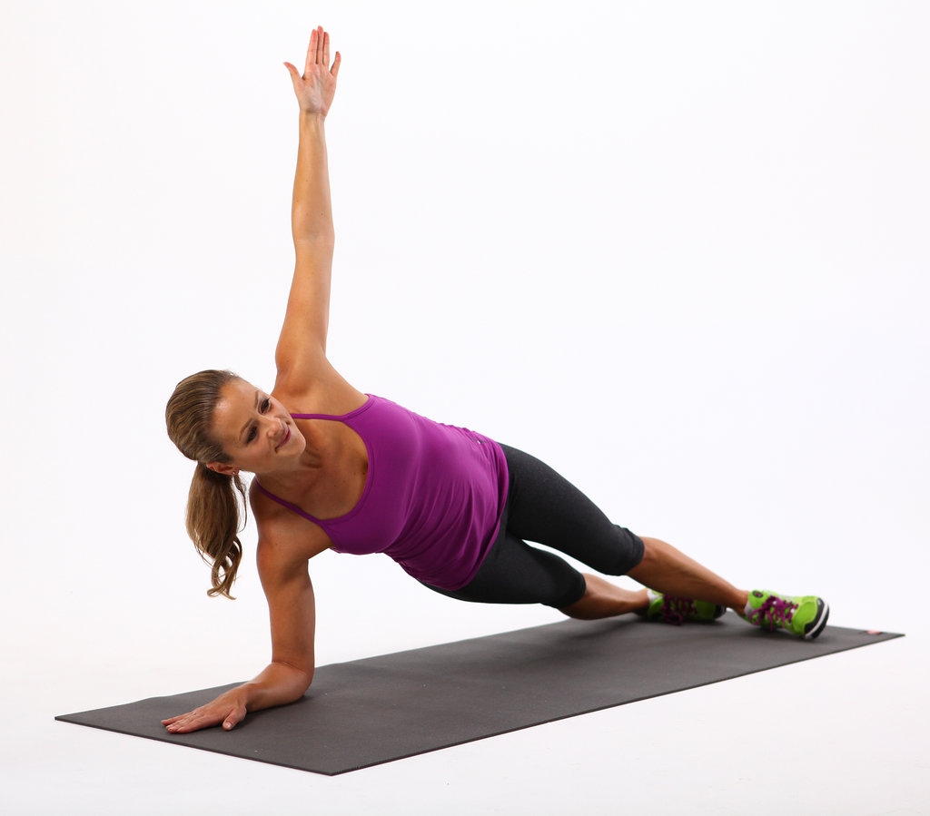Side Elbow Plank: 30 Seconds Each Side