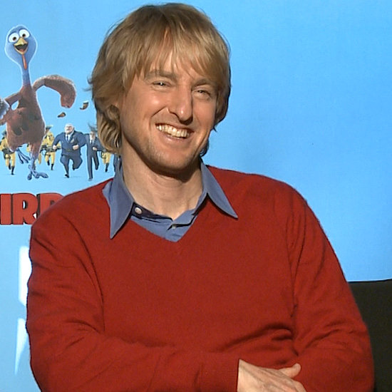 Woody Harrelson and Owen Wilson Free Birds Interview