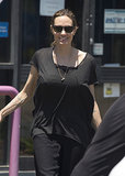 Angelina Jolie took Pax and the twins to shop for Halloween decorations in Australia.