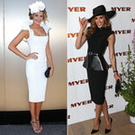 Celebrities at Derby Day