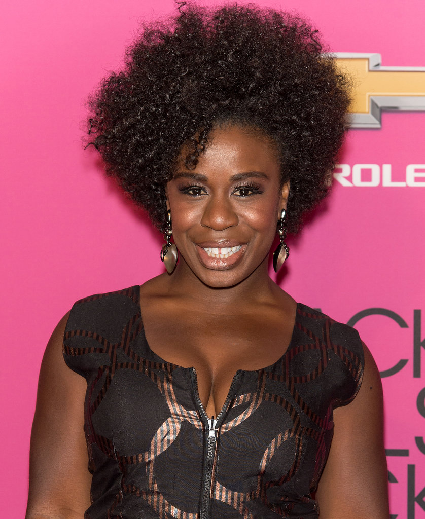 Orange Is the New Black's Uzo Aduba made our jaws drop with her glossy curls.
