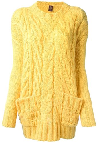 Dondup cable knit sweater