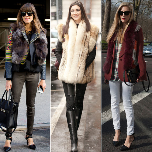 Fur Vest Styling Ideas | Shopping