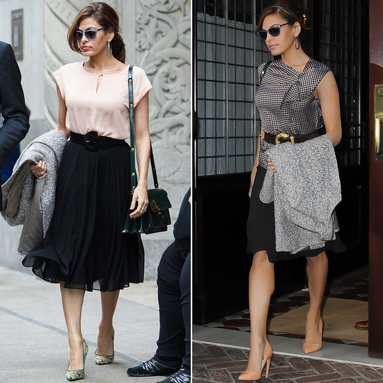 Eva Mendes Wearing New...