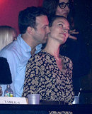 Jason Sudeikis and Olivia Wilde got romantic in the balcony at a May 2013 Justin Timberlake concert in NYC.