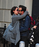 Olivia Wilde laid a serious kiss on Jason Sudeikis while out in NYC in October 2012.