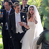 Emily VanCamp and Gabriel Mann Filming Revenge Wedding