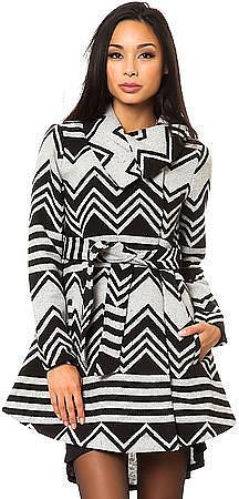 Jack BB Dakota The Emilia Charley Stripe Coat