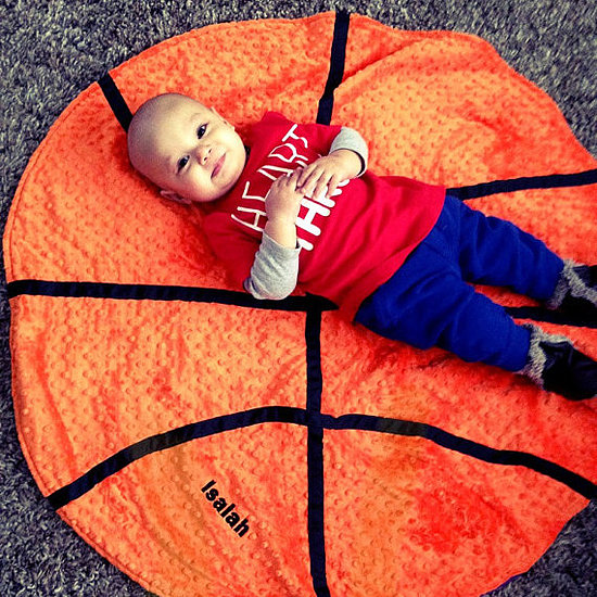 Baby Basketball Blanket