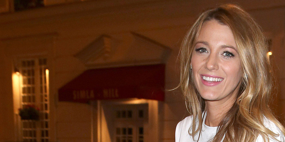 Blake Lively Takes a Victory Lap Around Paris