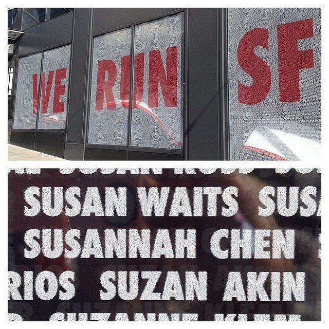 Susannah Chen, our POPSUGAR Food editor, proudly showed off her name. Source: Instagram user susannahchen